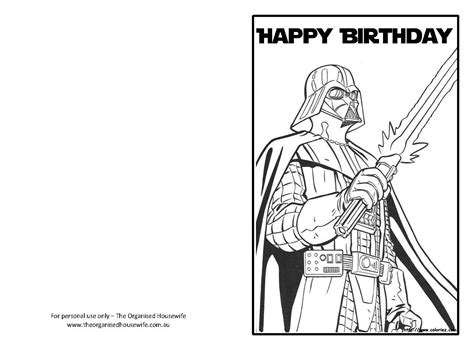 Wars Birthday Card Printable Star Wars Birthday Cards Images