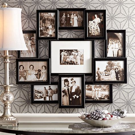 small collage picture frames a wood collage frame is a great place to display wedding