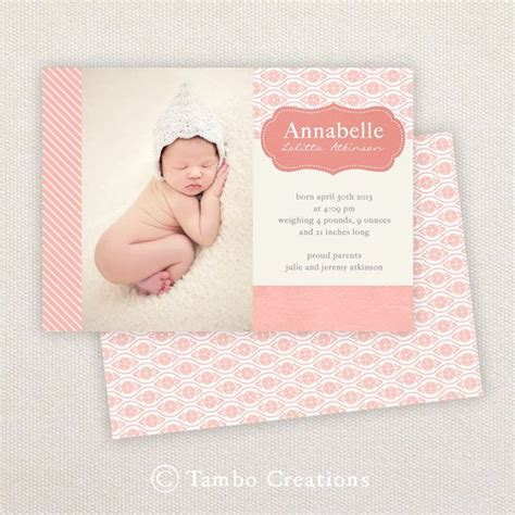 52 best images about newborn birth announcements on