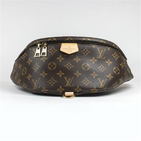 louis vuitton monogram brown bum bag crepslocker