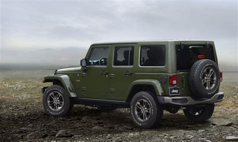 Jeep Wrangler Unlimited Anniversary Edition Jeep 75th Anniversary Special Editions Jeepfan