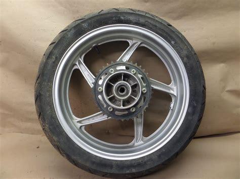 honda cbr250r wheels 2012 honda cbr250r rear wheel tire 140 70 17 w brake