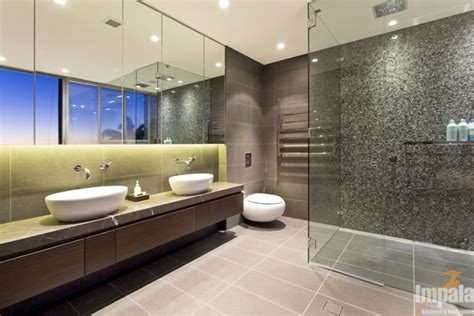 Modern Ensuite Bathrooms Modern Bathroom 4