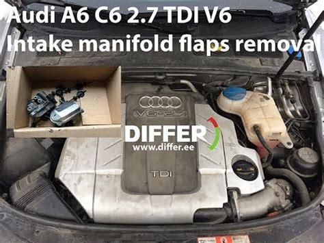 Audi Q7 Code P2020 by Audi A6 C6 2 7 3 0 Tdi V6 Intake Manifold Flaps Removal