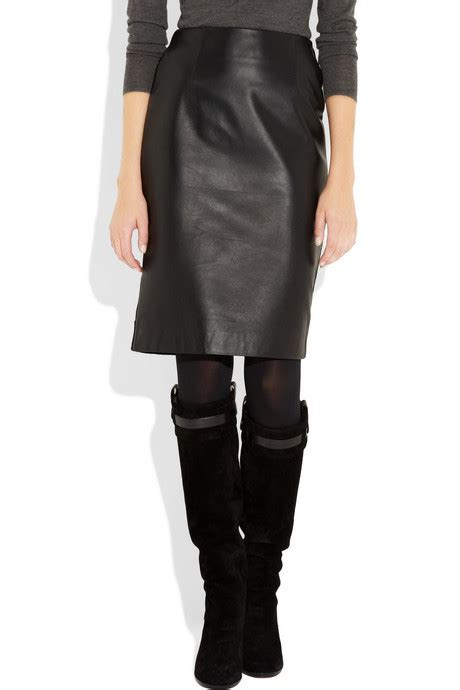 are leather skirts office appropriate