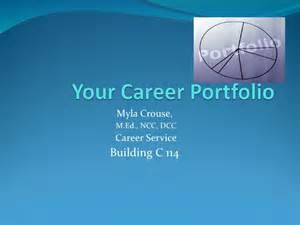 Career Portfolio Templates by Career Portfolio Cover Page Template