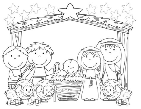 christmas story coloring pages nativity 778 best nativity printables images on pinterest