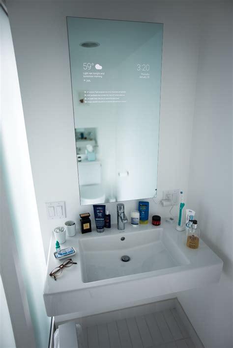 home  smart mirror  runs google