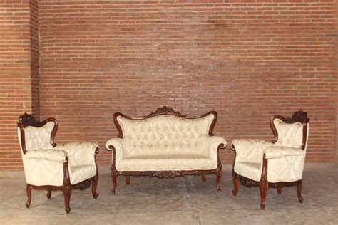 Meisya Set barock sofa garnitur meisya set 3 1 1 gebeizt in