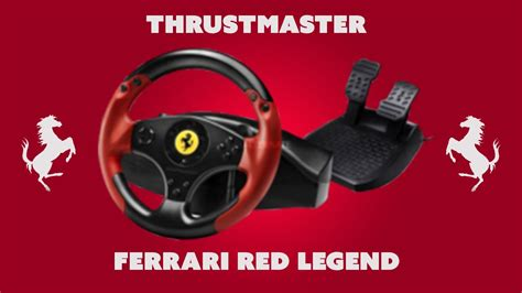 Racing Wheel Legend Edition Steering Thrustmaster Legend Edition Test And Review