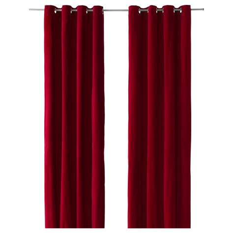 red curtains ikea curtains and drapes red decorate the house with