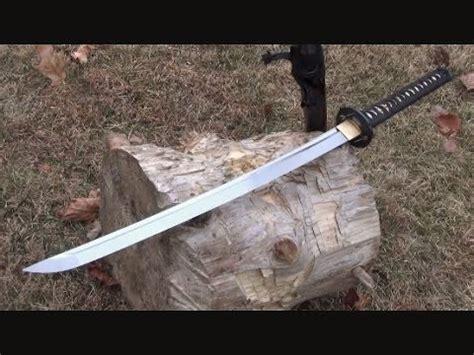 Pedang Samurai Katana Gunto Black Hq Steel cold steel chisa katana