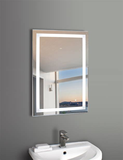 led mirror wall mounted led mirror 36 by 24