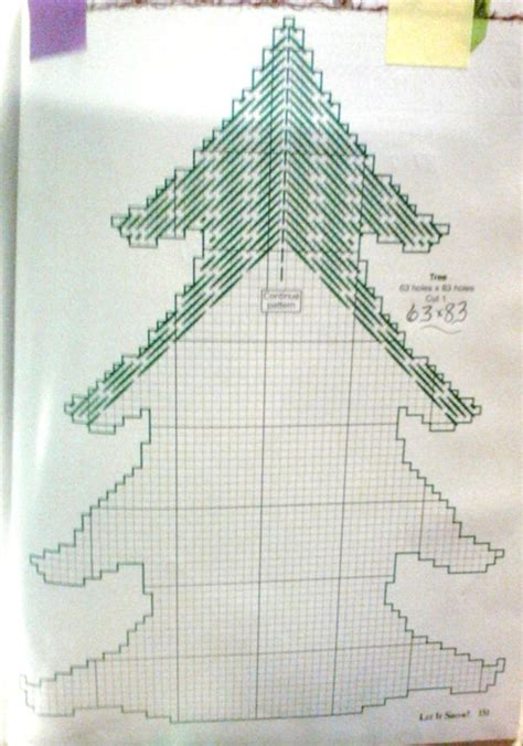 christmas tree plastic canvas pattern 92 best images about trees on pinterest plastic