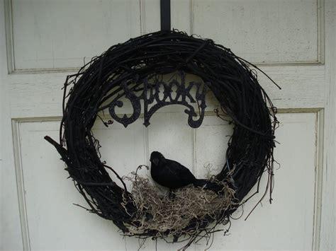halloween wreath crafty loo s halloween wreaths
