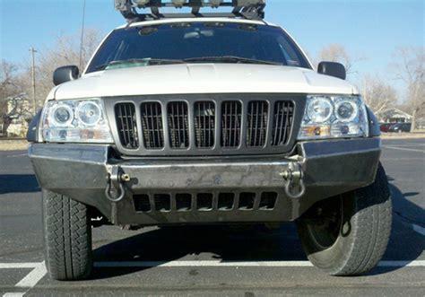 96 jeep grand front bumper 99 04 jeep grand wj front non winch bumper