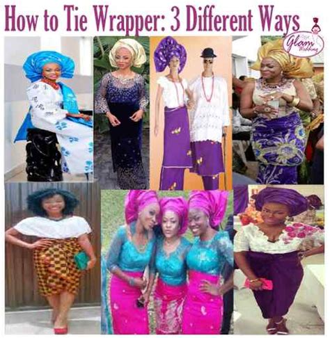 How To Tie Nigerian Wrapper Igbo Wrapper Yoruba Style | how to tie nigerian wrapper igbo wrapper yoruba style
