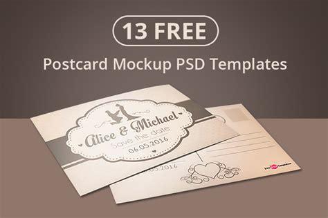 psd postcard template 13 free postcard mockup psd templates designyep