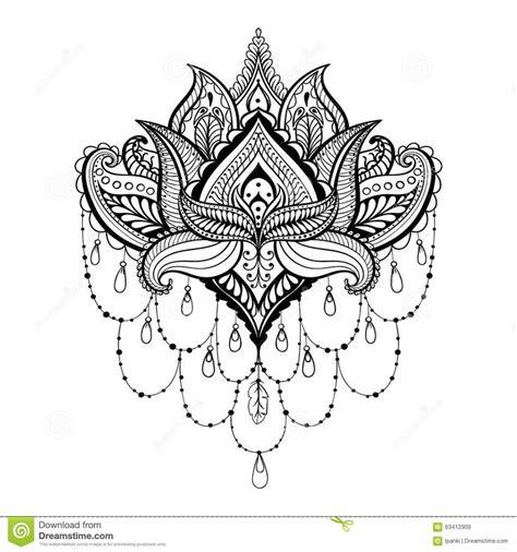 fleur de lotus mandala coloriagetv tatuagem flor de lotus boho pesquisa google tattoo