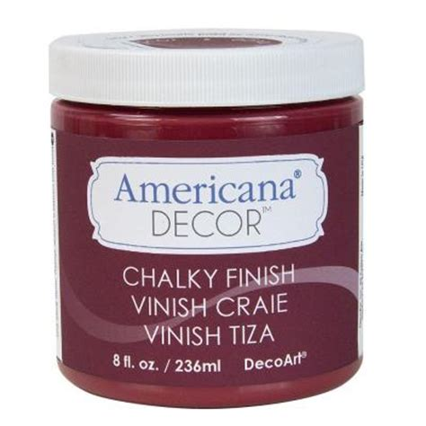 americana chalk paint colors home depot decoart americana decor 8 oz chalky paint adc07 95