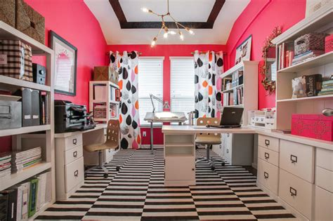 home office design houston whimsical work space contemporary home office