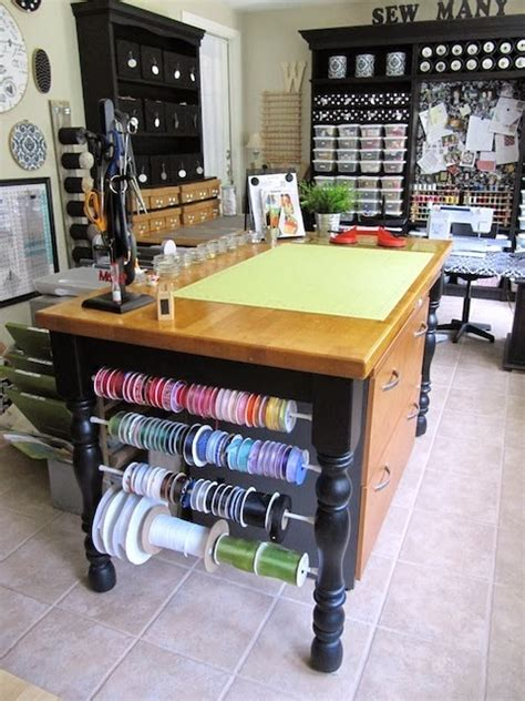 craft room table sew many ways sewing and craft room ideas and updates