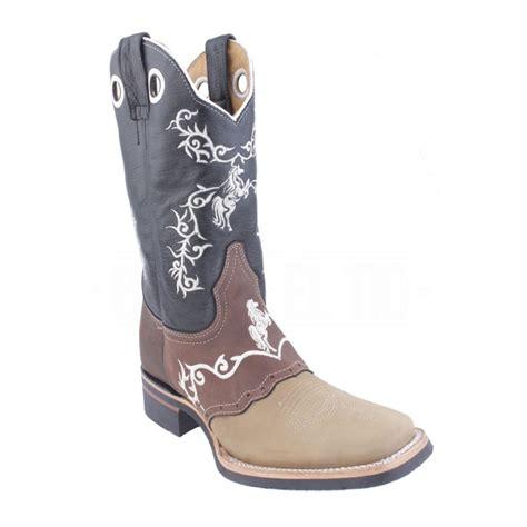 imagenes de botas vaqueras hombre botas vaqueras rodeo bordada piel con nobuck chata
