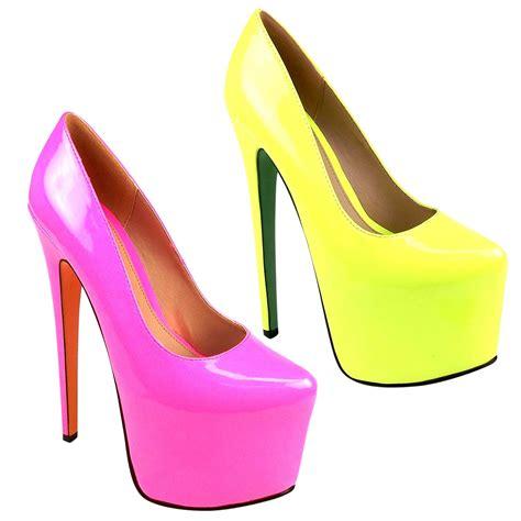seven inch high heels court shoes black platform 7 inch high heel stiletto