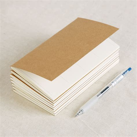 Craft Paper Notebook - vintage kraft paper notebook blank notepad diary journal