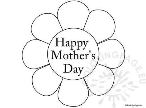 happy mothers day coloring page happy s day coloring page