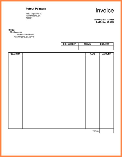 Make An Invoice In Google Docs Invoice Template Ideas Docs Make Template