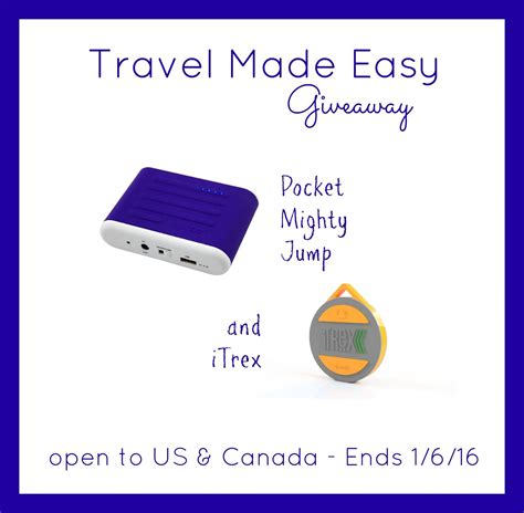 Travel Giveaways - travel made easy giveaway it s free at last