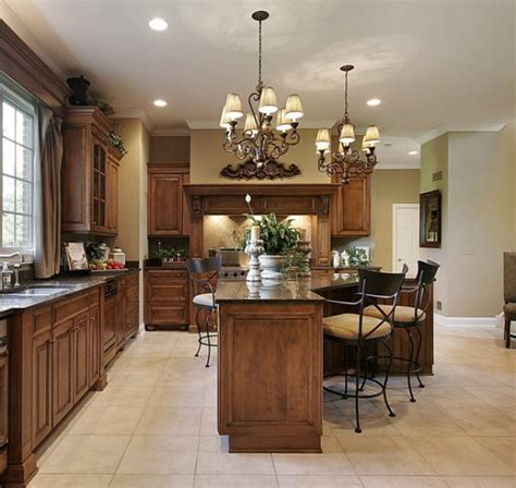 Kitchen Chandelier Lighting | kitchens with chandeliers home design and decor reviews