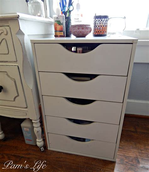 pam s storage solution dupe for the alex drawers