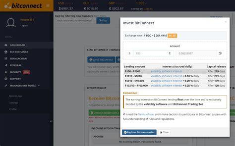 bitconnect dashboard bitconnect betrug oder gutes investment kryptomag com