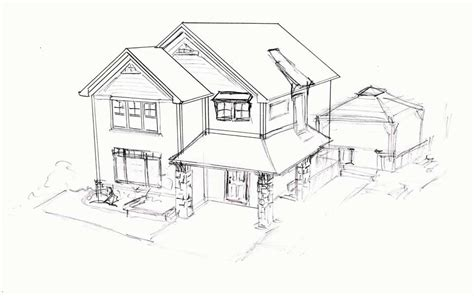 enchanting home sketch sketch house houses and gardens
