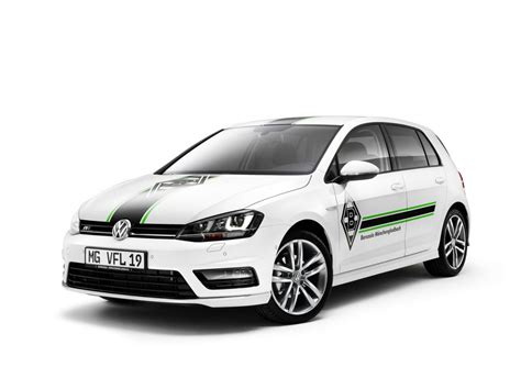 Edgar M Nchengladbach Us Cars by Volkswagen Reveals The Golf Borussia M 246 Nchengladbach