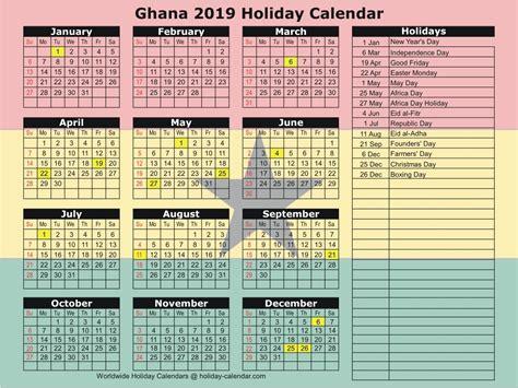 ghana   holiday calendar