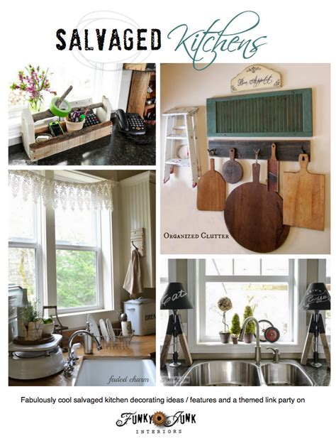 salvaged kitchen decorating ideas from crates to