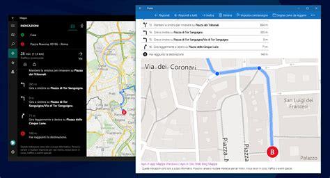 maps mobile in italiano come condividere percorsi e indicazioni stradali su