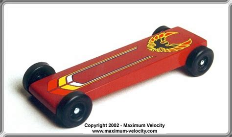 Extended Wedge Pinewood Derby Car Design Pinewood Derby Wedge Template
