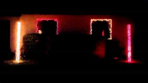 fsu fight song in christmas lights youtube