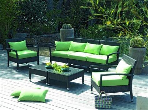 mobilier de jardin 25 modern outdoor furniture sets that brighten up backyard ideas in summer