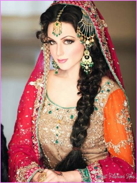 bridal hairstyles video in hindi indian bridal hairstyle images latestfashiontips com