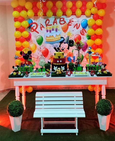 Festa In Casa by A Casa Do Mickey Mouse Sonho Meu Decora 231 227 O De Festas E