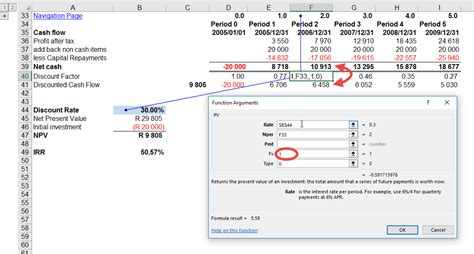 excel npv functions  excel trainingauditexcelcoza