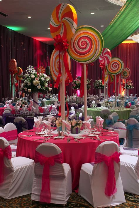 candyland theme decorations spindle top gala with imagine that houston land
