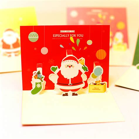 aliexpress gift card aliexpress com buy christmas snowman greeting card 3d