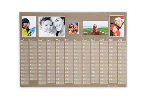 design kalender selbst gestalten zeitloser kalender selbst gestalten b 252 rozubeh 246 r