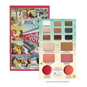 The Balm Smoke Balm With Foil I Avec Feville the balm meet matt e trimony paleta 9 matowych cieni